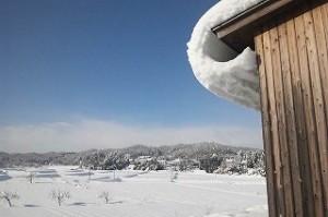 冬景色レストラン快晴